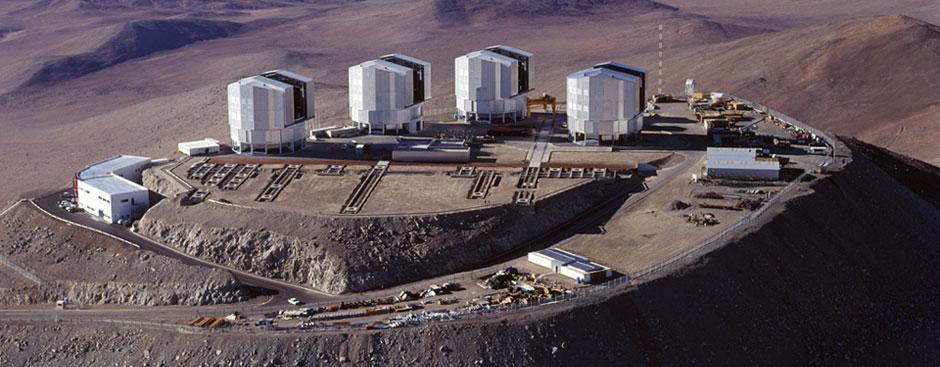 """Resultado de imagen de Observatorio astronómico de Paranal"""""""