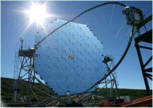 Major Atmospheric Gamma Imaging Cherenkov Telescope (MAGIC)